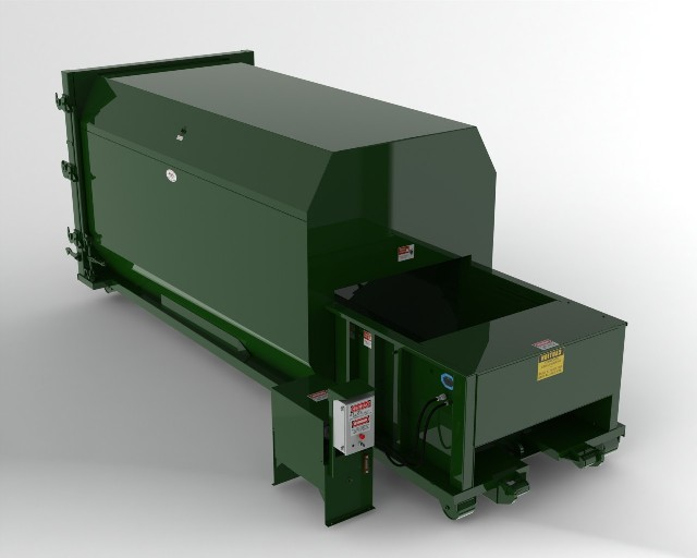 20 Yard Self Contained Compactor - 2 Yd Chamber
