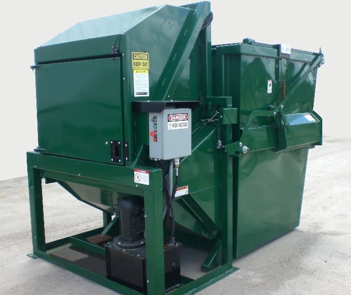 6 Yard Front & Rear Load Vertical Compactors